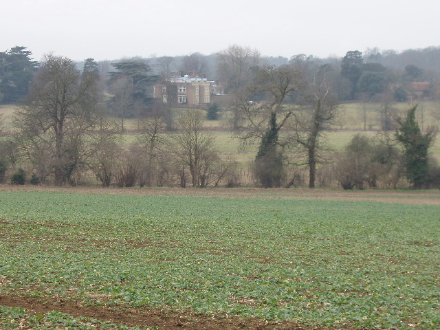 Crops and view to Munden House, near Watford