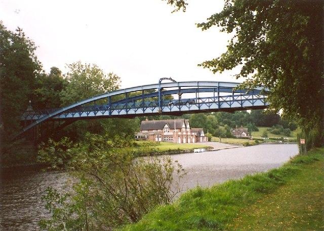 Kingsland Toll Bridge, Shrewsbury