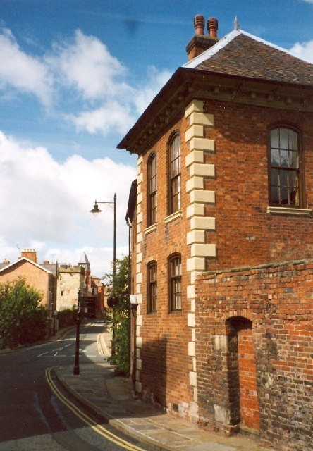 Former Gazebo, Town Walls, Shrewsbury