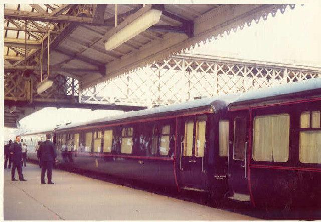 The Royal Train at Sheffield [Midland]
