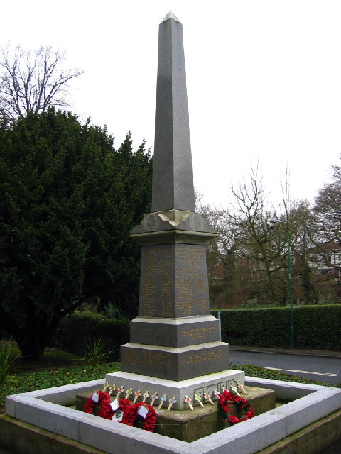 War Memorial, Burnopfield