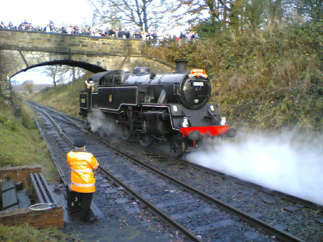 Bo'ness Kinneil Steam Railway at Birkhill Station