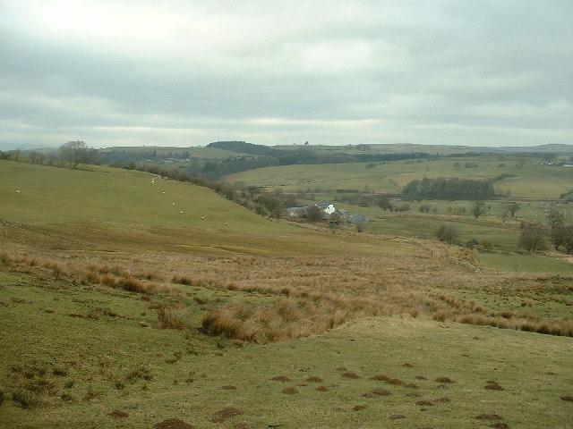 Ty'n Llwyn Farm near Pentrefoelas