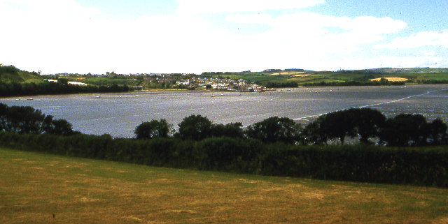 River Tamar from south of Bere Ferrers