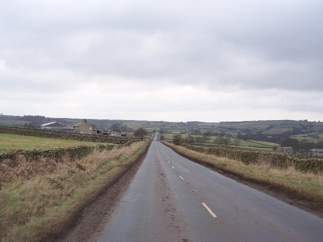 B6265 near Braithwaite Syke