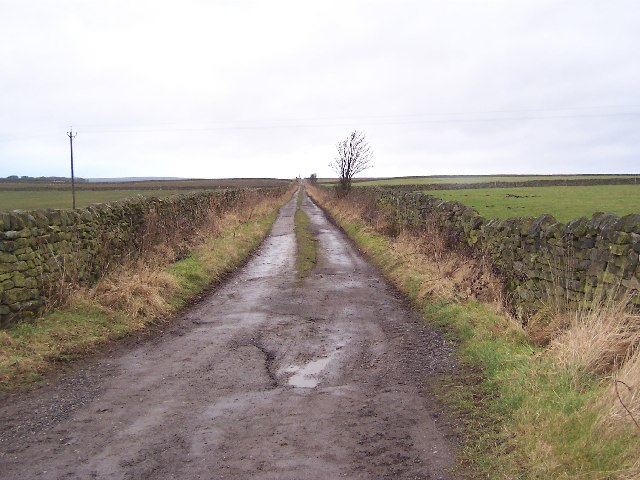 Green Lane over Pateley Moor