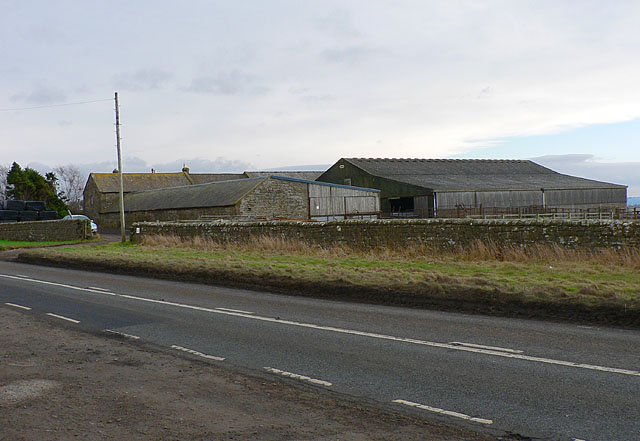 Farm at Carr Hill, Northumberland