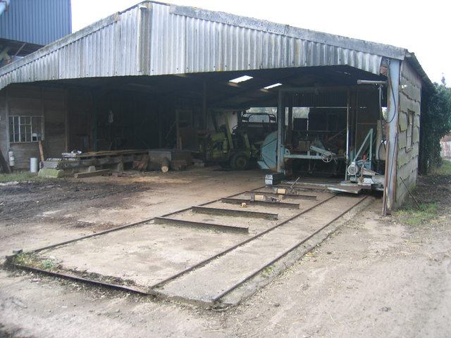 Sawmill at Ettington Station