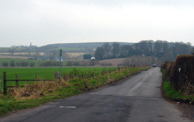 The road to High Urpeth