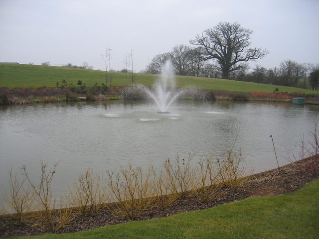 Fountain at Stratford-upon-Avon Business Park