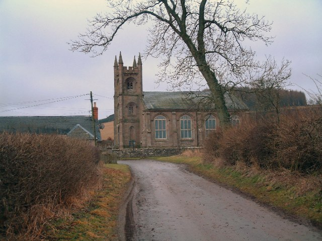 Road from Kinrossie to Kirkton of Collace