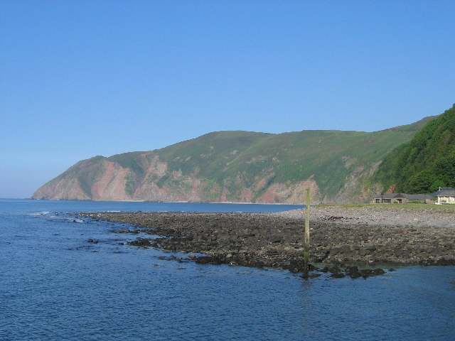 Porlock Bay From Porlock Weir, Somerset