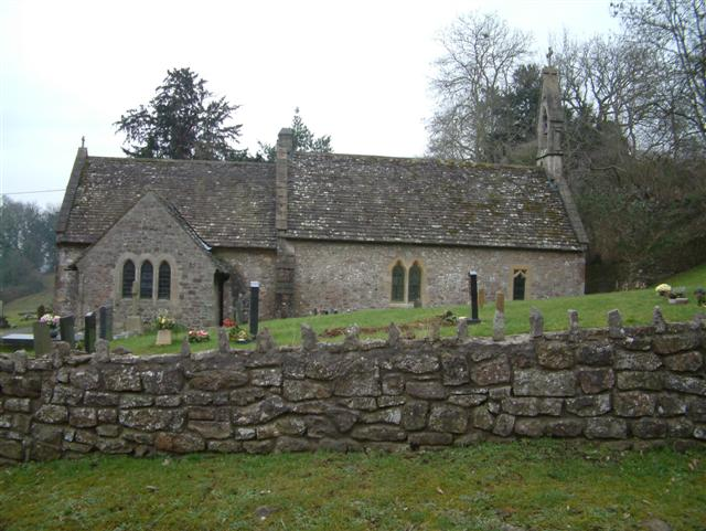 The Church at Llanvair Discoed