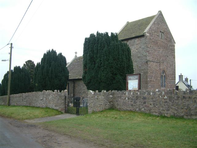 St. Dubritius Church, Llanvaches