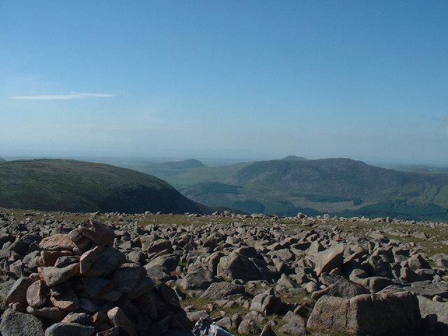 Summit Cairn Caw Fell