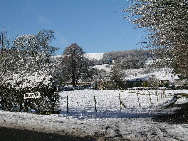 Otter Hole Farm,  A53 west of Buxton