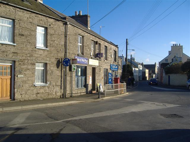Post office in Ballasalla, Isle of Man