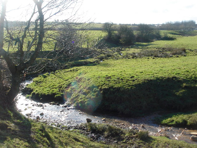 Old Mill Brook near Tyldesley