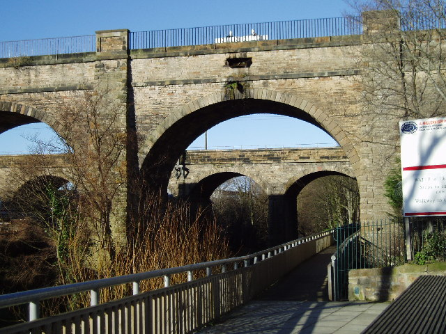 Slateford Aqueduct and Viaduct