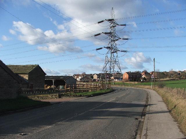 Batley Road at Haigh Moor.