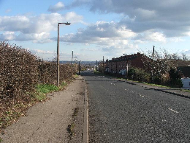 Batley Road at Kirkhamgate.