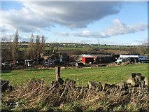 SE3023 : Farm near Brandy Carr. by Steve Partridge