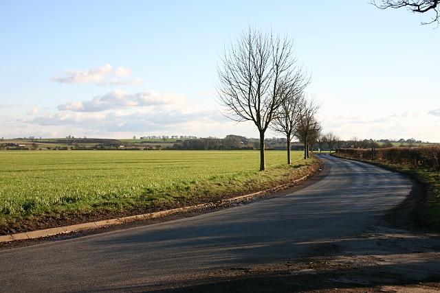 Road near Nunwick