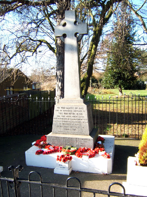 War Memorial, Barnetby-Le-Wold