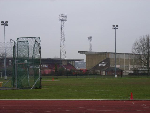 Athletics track in Swindon