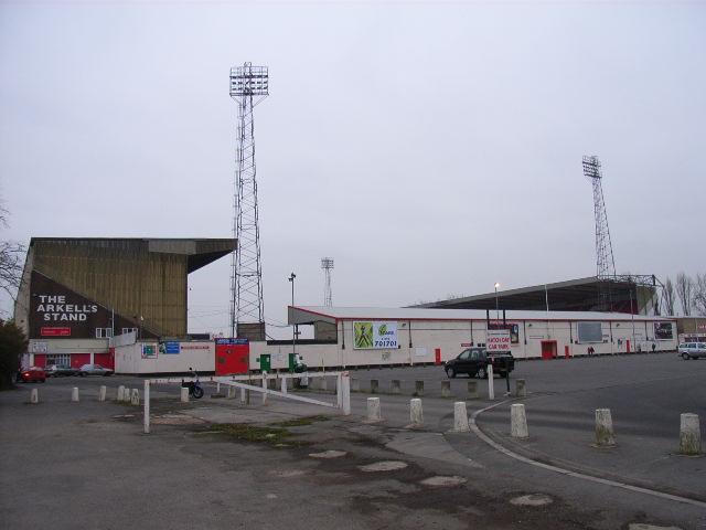 The County Ground Swindon