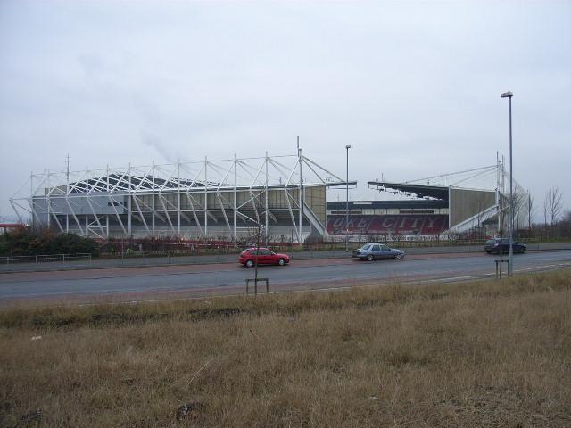The Britannia Stadium, Stoke
