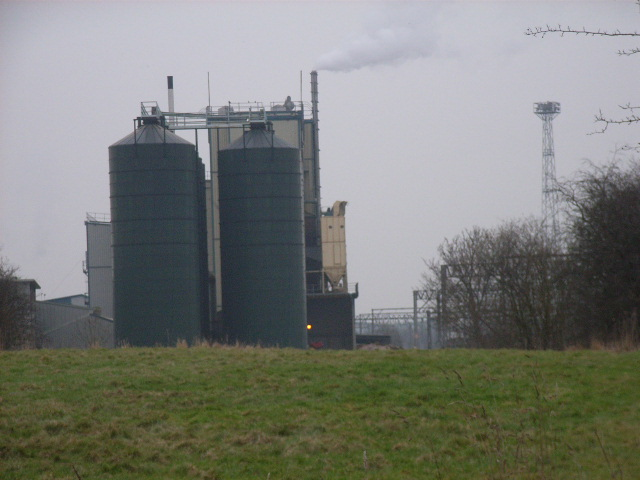 The Mornflake Oats plant, Crewe
