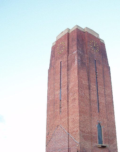 Clock tower, Balderton Hospital