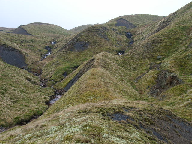 Scraith Burn headwaters