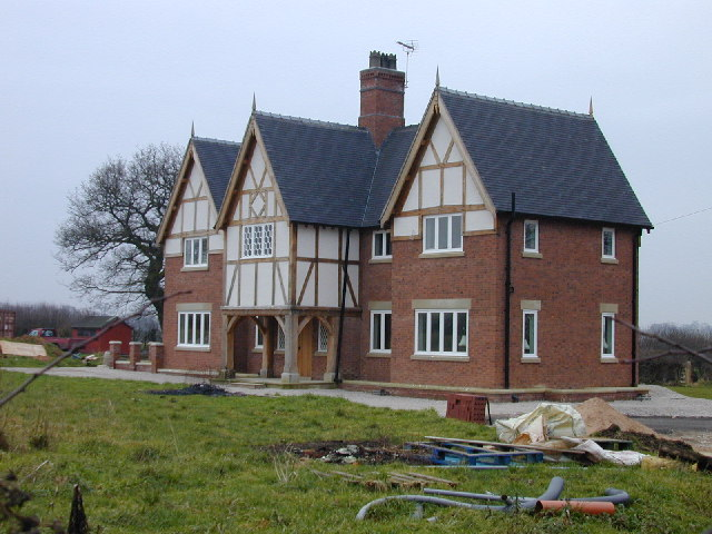 New house at Fishpond Farm, Hand Green.