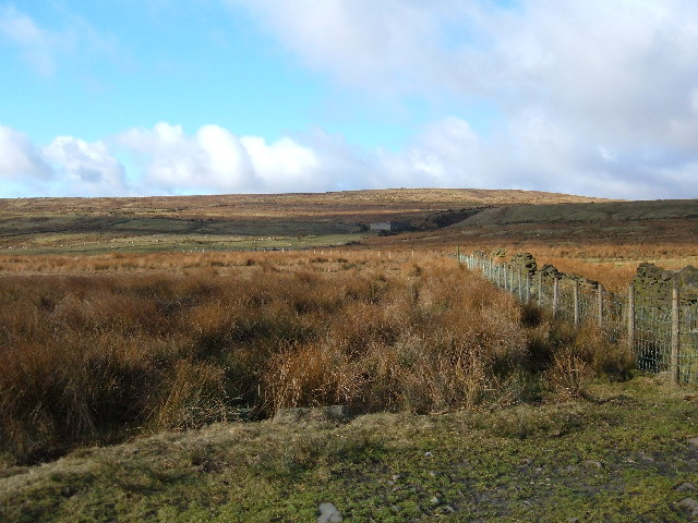 Rooley Moor, west of Whitworth