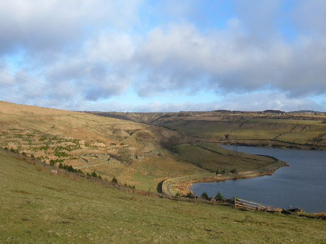 Cowm Reservoir, Whitworth