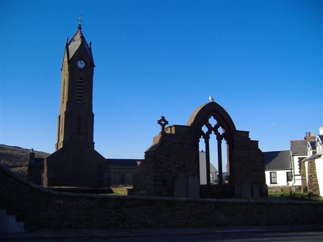 Ruins of St. Peter's Church, Peel