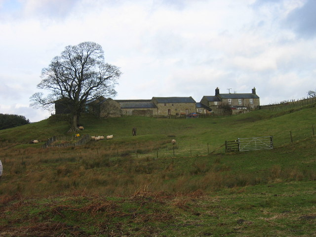 Newbiggin Farm, near Fontburn Reservoir