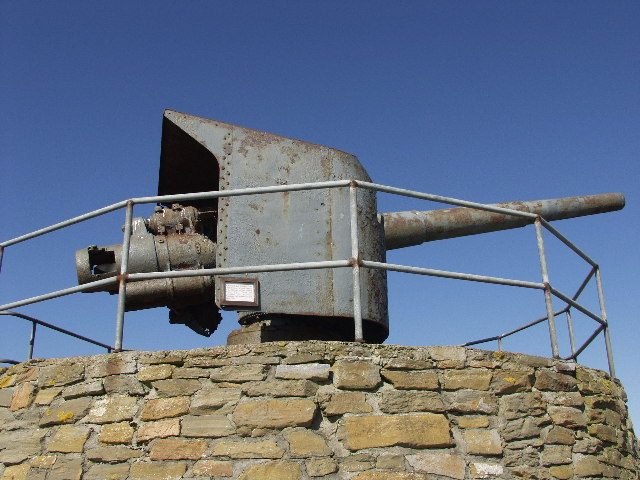 German gun from SMS Bremse