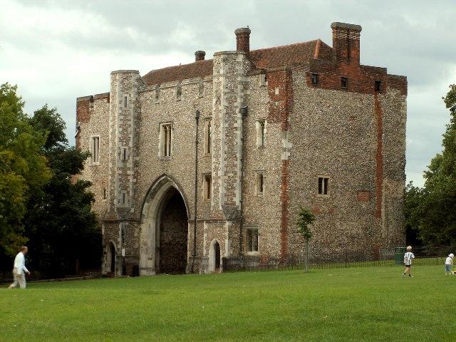 Abbey Gate, St. Albans, Herts.