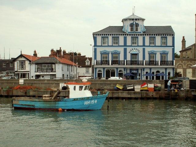 Pier Hotel, Harwich, Essex