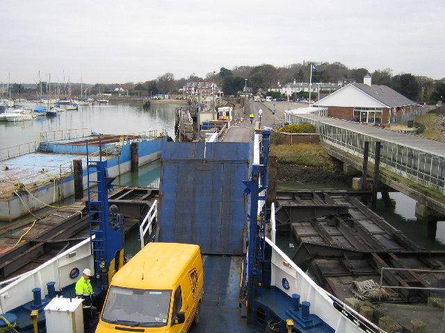 Lymington: Ferry Terminal