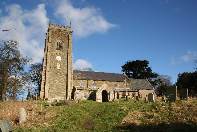 St.Helen's church, West Keal, Lincs.