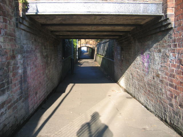 Subway under the Jephson Gardens