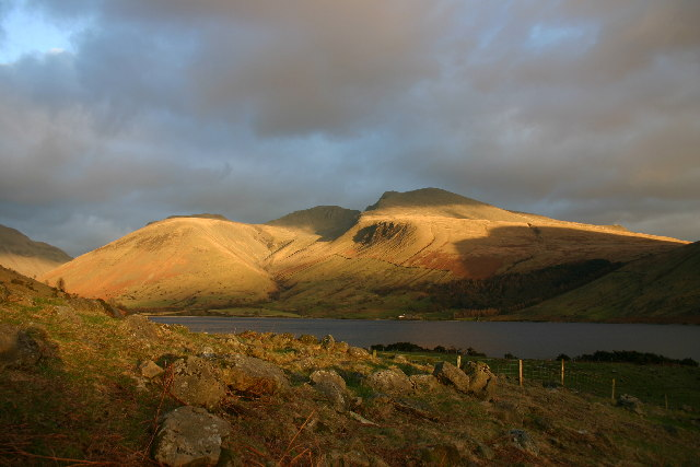 Scafells from Overbeck