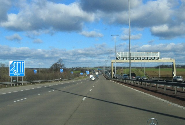 A1(M) Northbound, West Yorkshire