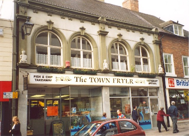 Fish and Chip Shop, Claremont Street, Shrewsbury