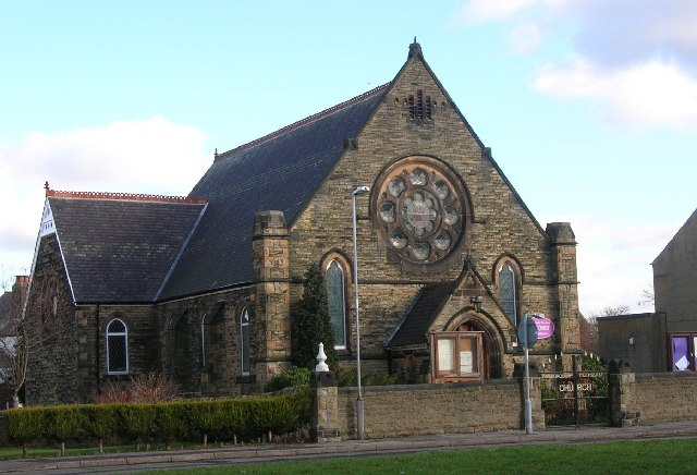 Mosborough Methodist Church near Sheffield.