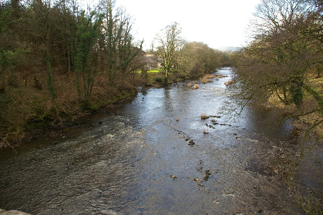 Confluence of the River Loud and the River Hodder